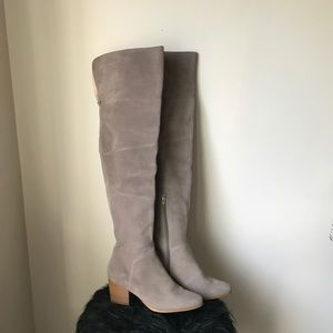 Via Spiga Over The Knee Suede Boots